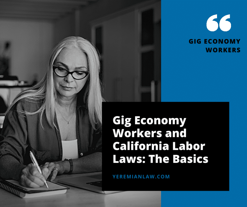 Gig Economy Workers