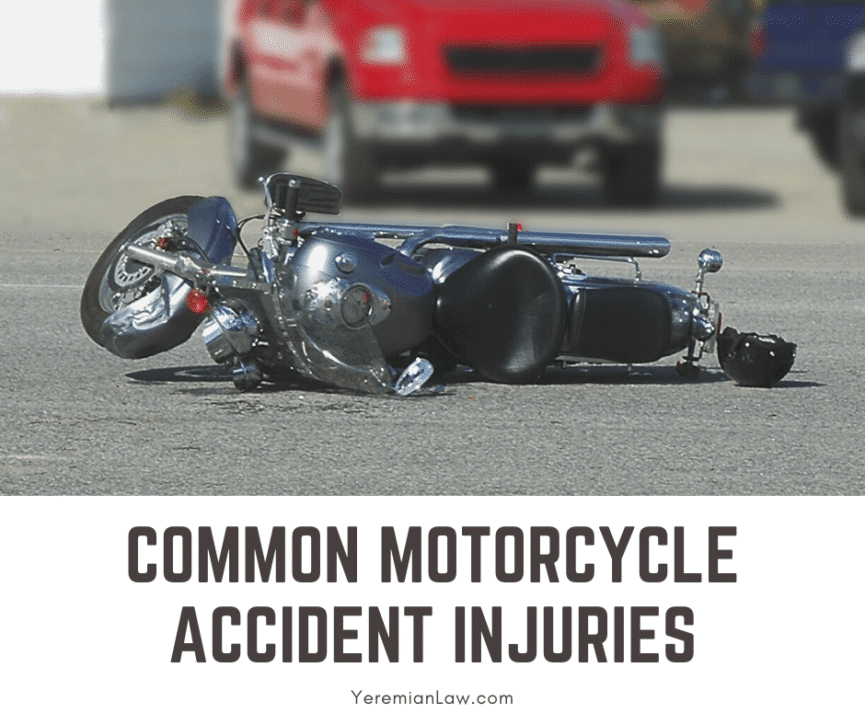 Common Motorcycle Accident Injuries in California - Glendale Personal Injury Law
