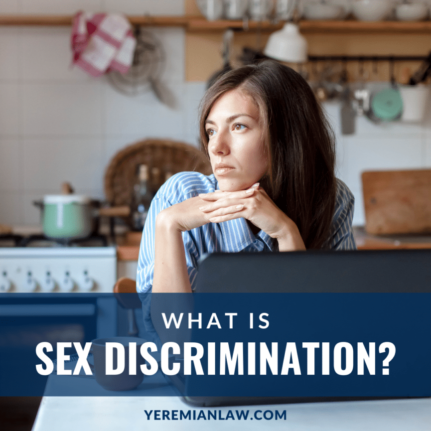 What is Sex Discrimination